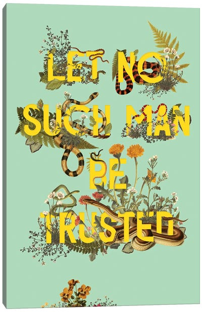 Let No Such Man Canvas Art Print