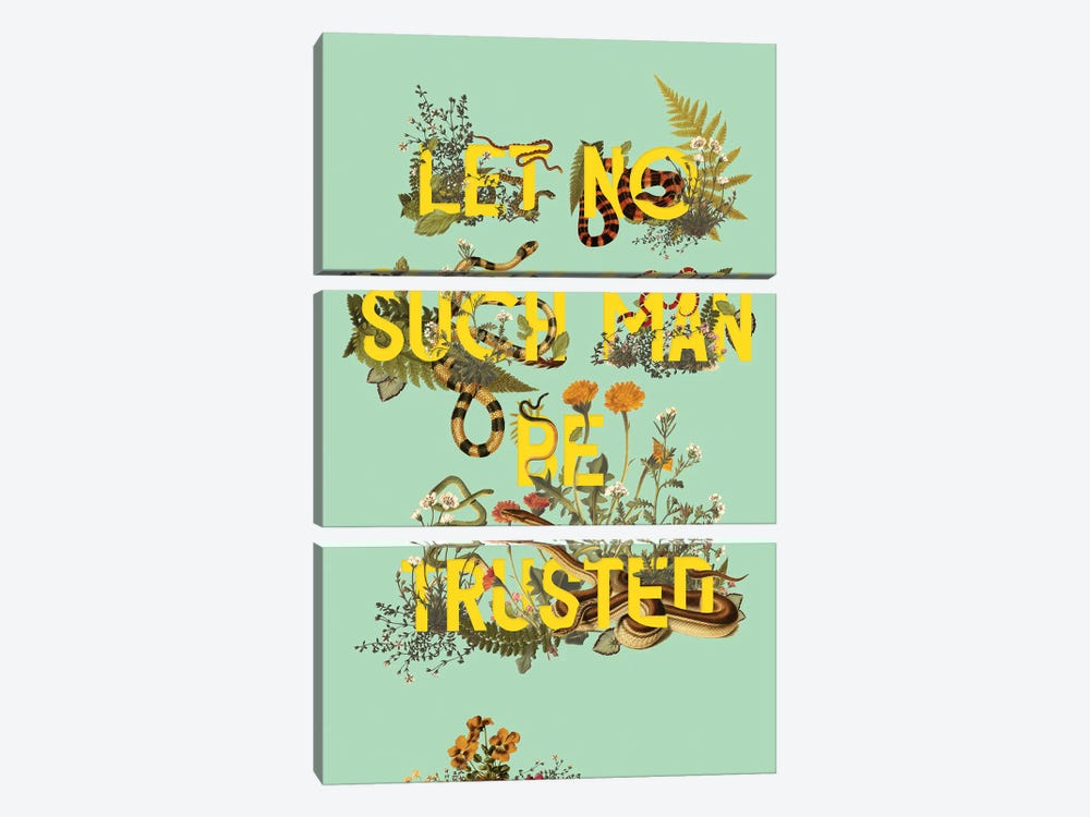 Let No Such Man by Heather Landis 3-piece Canvas Wall Art