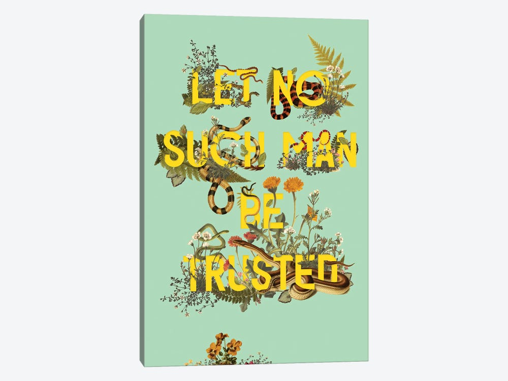 Let No Such Man by Heather Landis 1-piece Canvas Wall Art