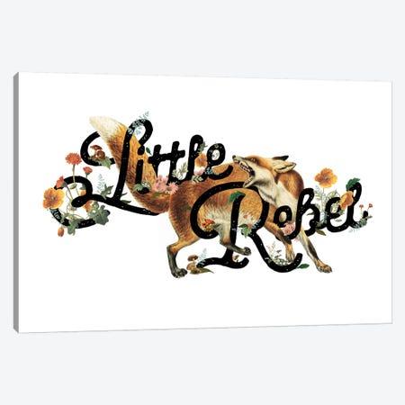 Little Rebel Fox Canvas Print #HLA22} by Heather Landis Canvas Art Print