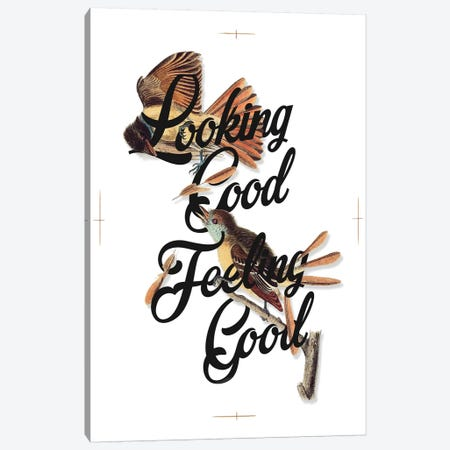 Look Feel Good Canvas Print #HLA23} by Heather Landis Canvas Art Print
