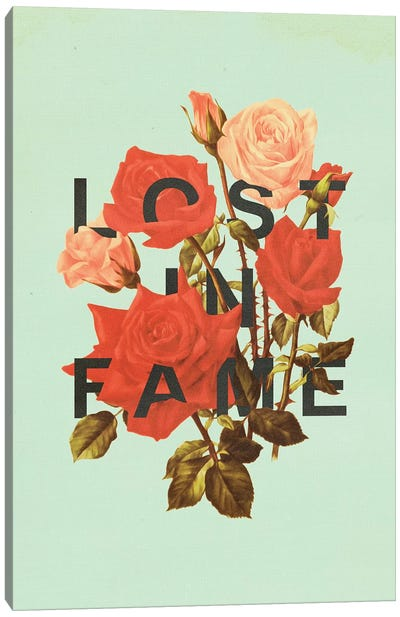 Lost Fame Canvas Art Print