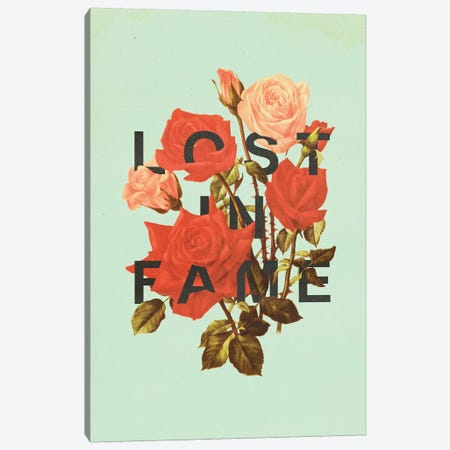 Lost Fame Canvas Print #HLA24} by Heather Landis Canvas Wall Art