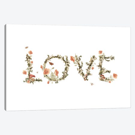 Love Canvas Print #HLA25} by Heather Landis Canvas Wall Art