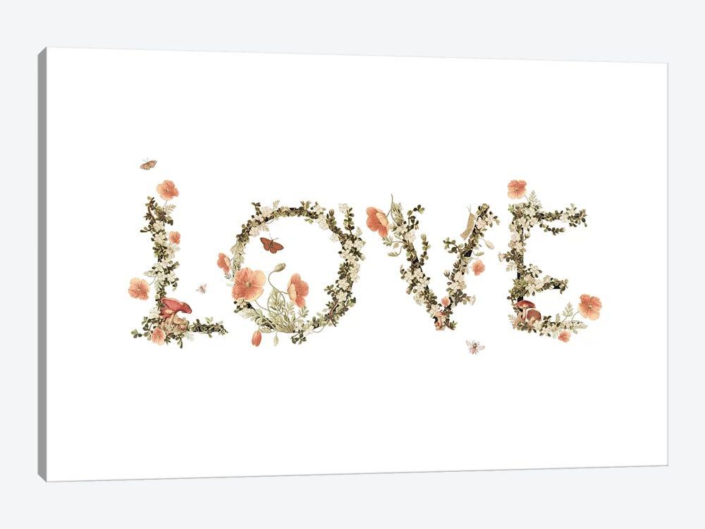Love by Heather Landis 1-piece Canvas Print