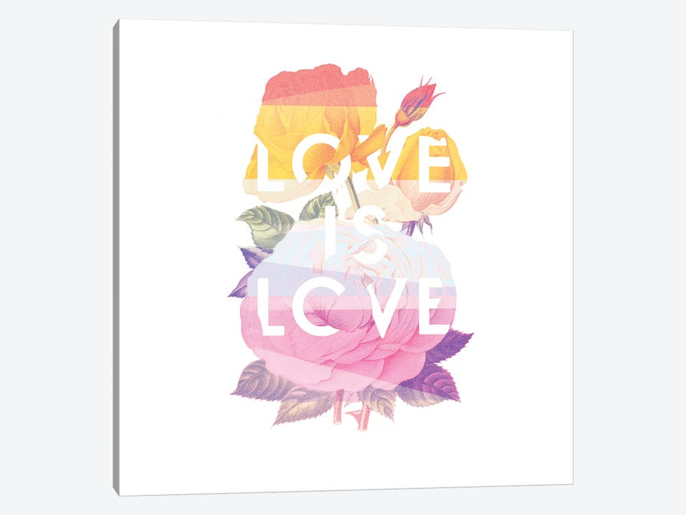 Love Is Love by Heather Landis 1-piece Canvas Art