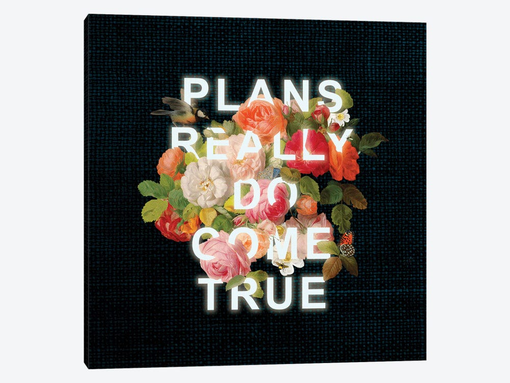 Plans by Heather Landis 1-piece Canvas Art Print
