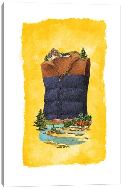 Racked Vest Canvas Art Print