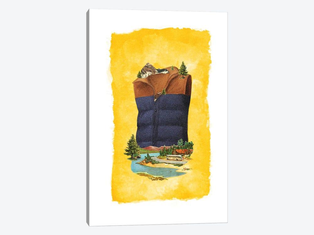 Racked Vest by Heather Landis 1-piece Art Print