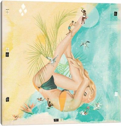 Beach Party II Canvas Art Print