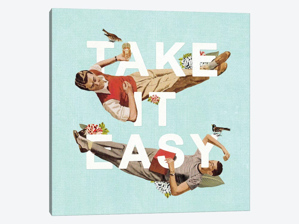 Take It Easy by Heather Landis 1-piece Canvas Art