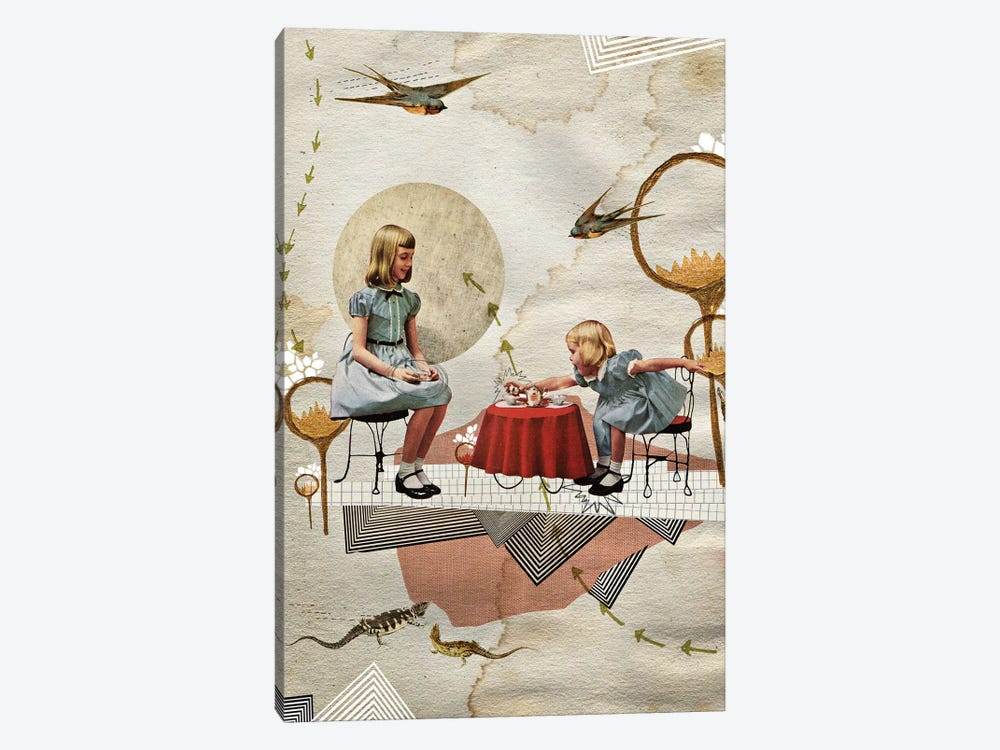 Tea Time by Heather Landis 1-piece Canvas Print