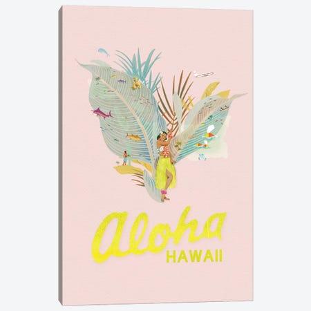 Aloha Hawaii 3-Piece Canvas #HLA46} by Heather Landis Canvas Art