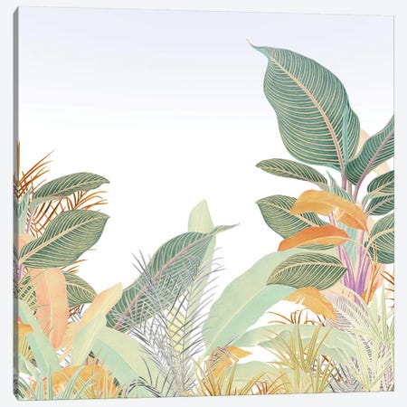 Native Jungle 3-Piece Canvas #HLA48} by Heather Landis Art Print