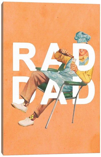 Rad Dad Canvas Art Print