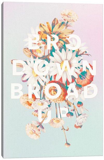 Broad Up Canvas Art Print