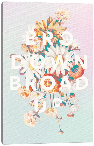 Broad Up Canvas Art Print