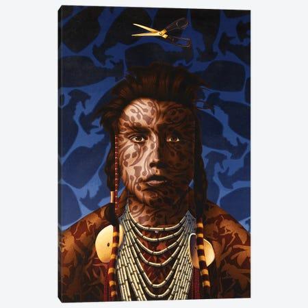 Flower Of Scotland Canvas Print #HLL10} by Stephen Hall Canvas Print