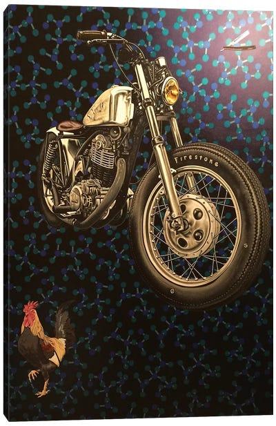 Molecular Motivation  Canvas Art Print