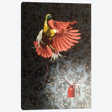 Paradise Lost  Canvas Print #HLL15} by Stephen Hall Canvas Art