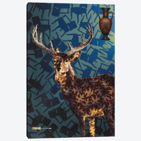 Ready Canvas Print #HLL18} by Stephen Hall Art Print