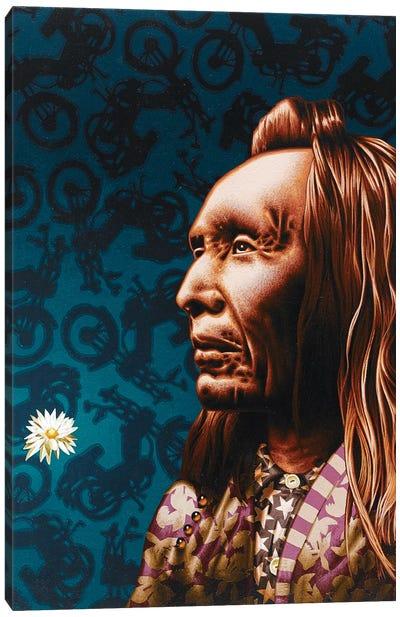 2 Eagles  Canvas Art Print