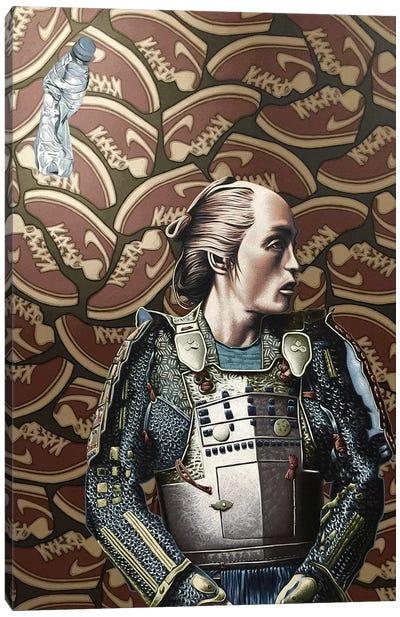 The Lost Samurai Canvas Art Print