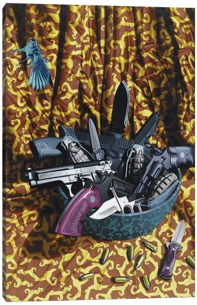 American Still-Life Canvas Art Print