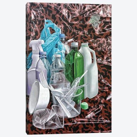 Fat Free Ocean Canvas Print #HLL30} by Stephen Hall Art Print