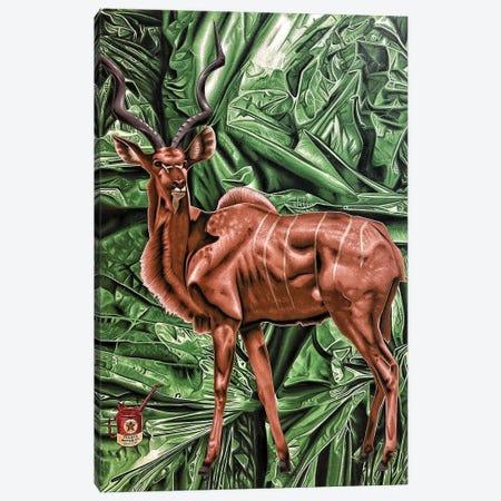 Bad Habitat Canvas Print #HLL32} by Stephen Hall Canvas Art Print