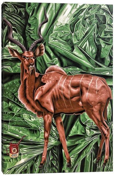 Bad Habitat Canvas Art Print