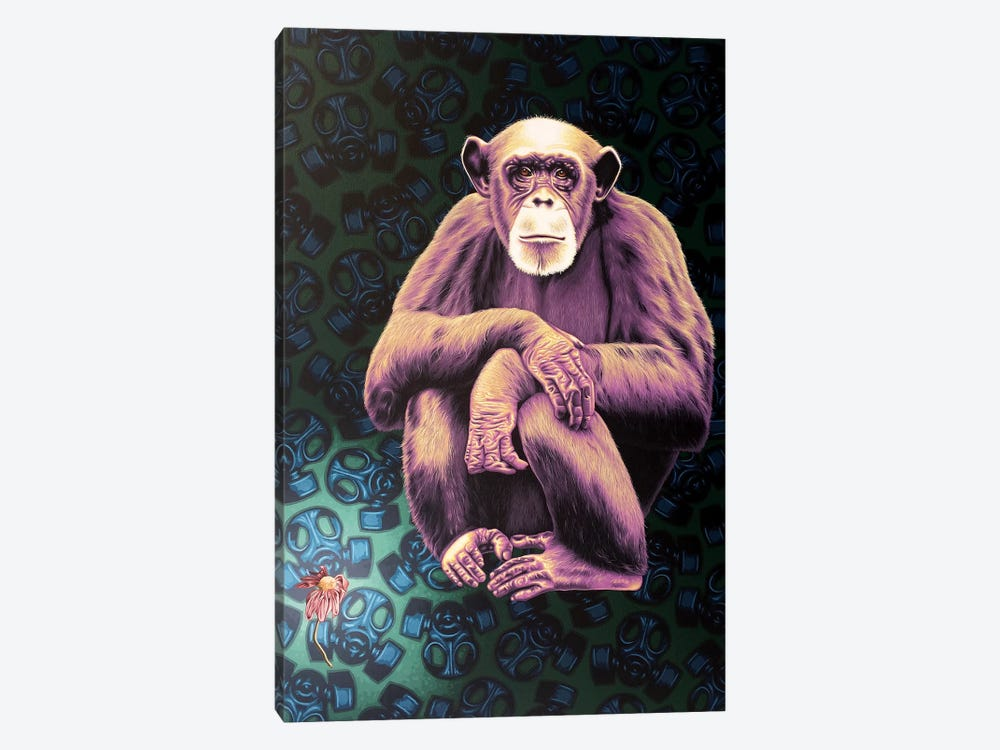 APE (Anyone Protecting the Environment) by Stephen Hall 1-piece Art Print
