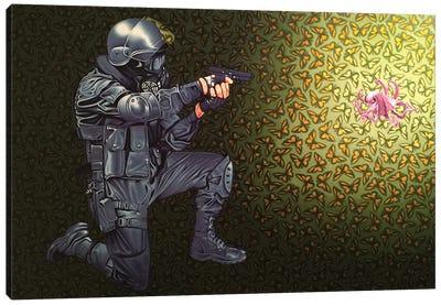 Crowd Control Canvas Art Print