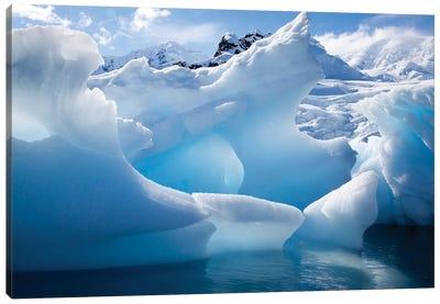 Antarctica, Paradise Bay, iceberg Canvas Art Print