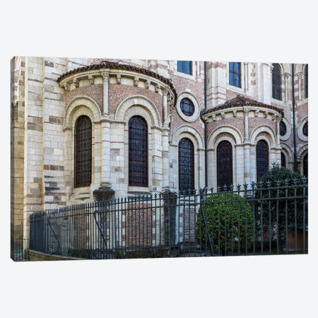 France, Toulouse. Basilica of St. Sernin. Canvas Print #HLO59} by Hollice Looney Canvas Art
