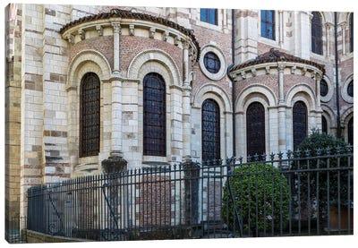 France, Toulouse. Basilica of St. Sernin. Canvas Art Print