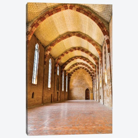 France, Toulouse. Church of the Jacobins Great Hall. Canvas Print #HLO63} by Hollice Looney Canvas Print