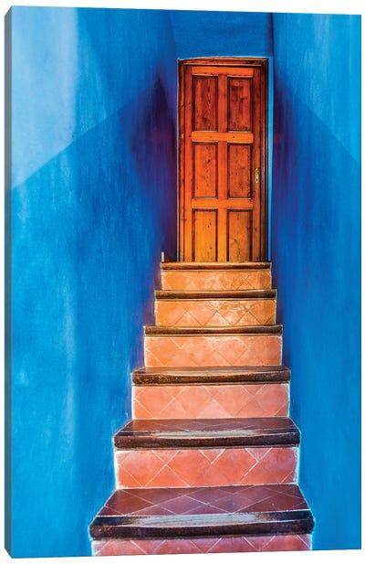 Spain, Barcelona. Parc Guell. Canvas Art Print