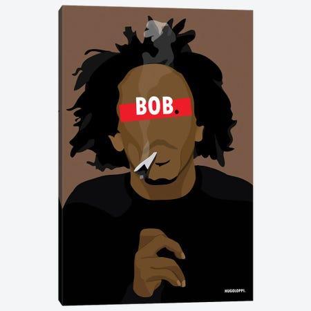 Bob Marley Canvas Print #HLP13} by Hugoloppi Canvas Print
