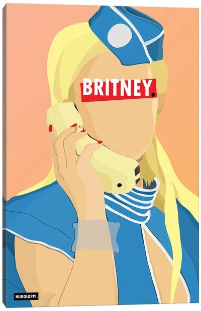 Britney Spears Canvas Art Print