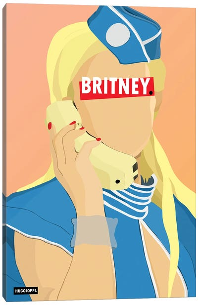 Britney Spears Canvas Art Print