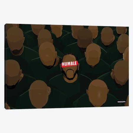 Kendrick Lamar Canvas Print #HLP15} by Hugoloppi Canvas Art