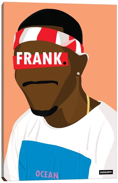 Frank Ocean Canvas Art Print