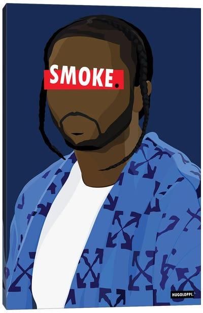 Affiche Pop Smoke Canvas Art Print
