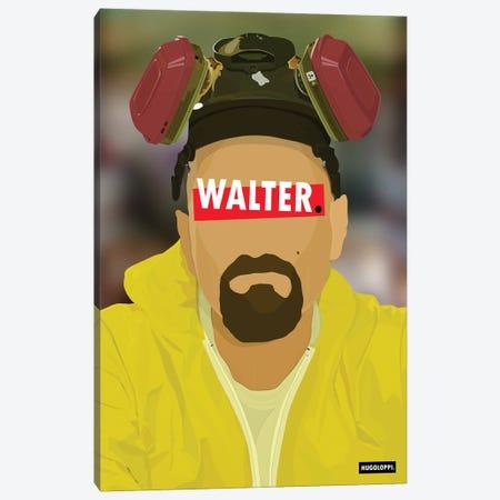 Walter White Canvas Print #HLP3} by Hugoloppi Art Print