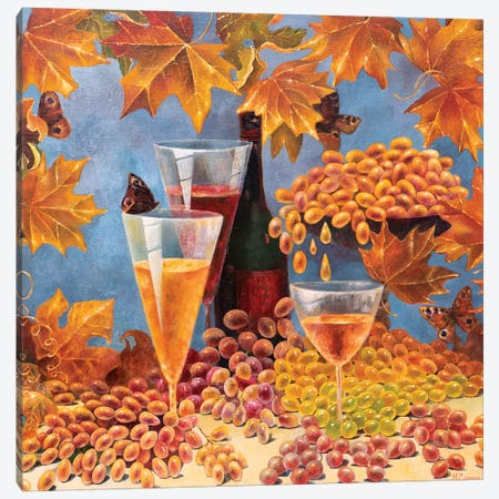 Taste Of Autumn Canvas Print #HLS20} by Helena Lose Canvas Print
