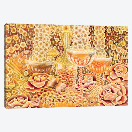 Gold Canvas Print #HLS7} by Helena Lose Canvas Print