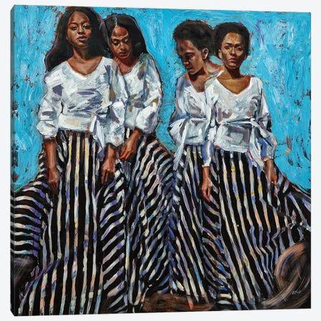 The Routes We Follow Canvas Print #HLU102} by Hodaya Louis Canvas Art Print