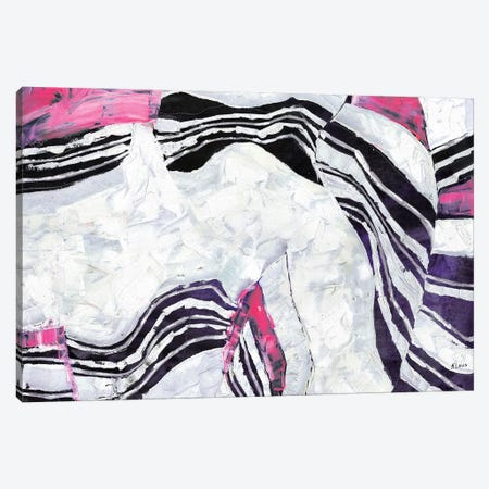 Victoria Canvas Print #HLU106} by Hodaya Louis Canvas Art