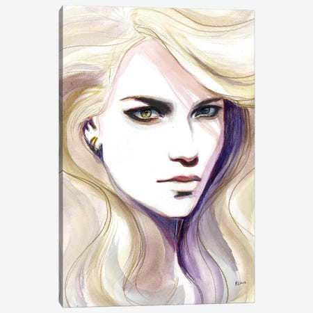 Blondie Canvas Print #HLU11} by Hodaya Louis Canvas Wall Art